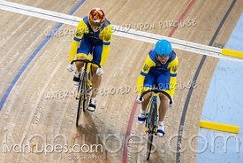 Team Sprint Qualifications.  Track Cycling World Cup Milton, October 26, 2018