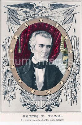 James K. Polk eleventh President of the United States