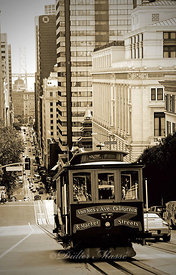 Cable car San Francisco Californie USA 10/12