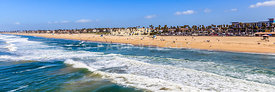 Huntington Beach California Panorama Photo