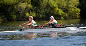 Taken during the World Masters Games - Rowing, Lake Karapiro, Cambridge, New Zealand; ©  Rob Bristow; Frame 368 - Taken on: T...