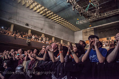 Marillion audience, fans, Wolverhampton weekend, 2013