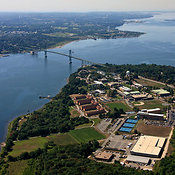 Roger Williams University And The Mount Hope Bridge, Bristol