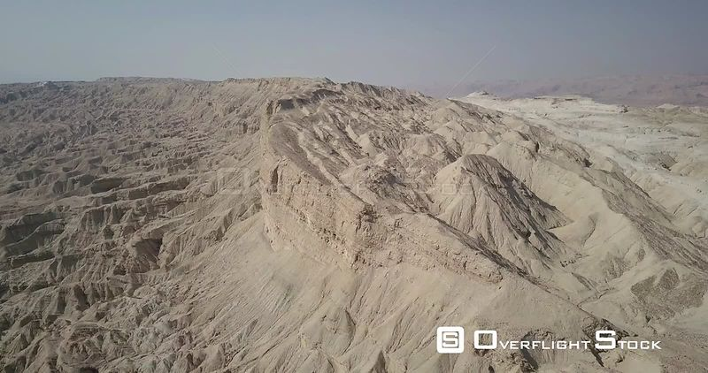 Flying over Mount Sodom Israel