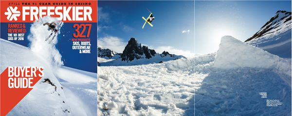 Freeskier magazine - Buyer's guide - Tim Mc Chesney