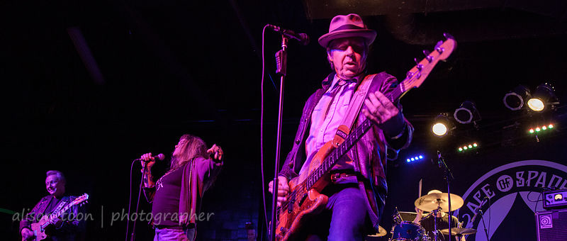 SACRAMENTO, CA - DECEMBER 27 2012: X (the band), performing at the Ace of Spades, Sacramento CA, on December 27th, 2012.
