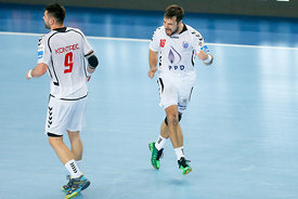 Tin KONTREC of PPD Zagreb, Zlatko HORVAT of PPD Zagreb during the Final Tournament - Final Four - SEHA - Gazprom league, semi...
