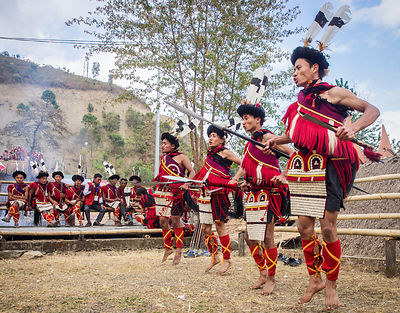 Hornbill Festival - The Tribal Meet photos
