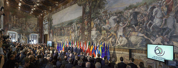 Summit for the 60th Anniversary of signing of the Treaty of Rome