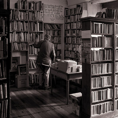 Bookshop | Wigtown Dumfries & Galloway Scotland | 2014