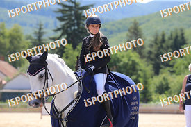 KISS Liza (HUN) and INAS during GP Kiemelt verseny, Horze Gyermek GP - 125 cm, 2018. 06. 17. - Szilvásvárad  (Photo: www.isp...