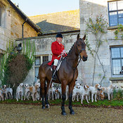 The Quorn Hunt at Ingarsby Hall 27/10