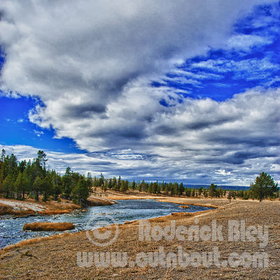 Fall Clouds in Yellowstone