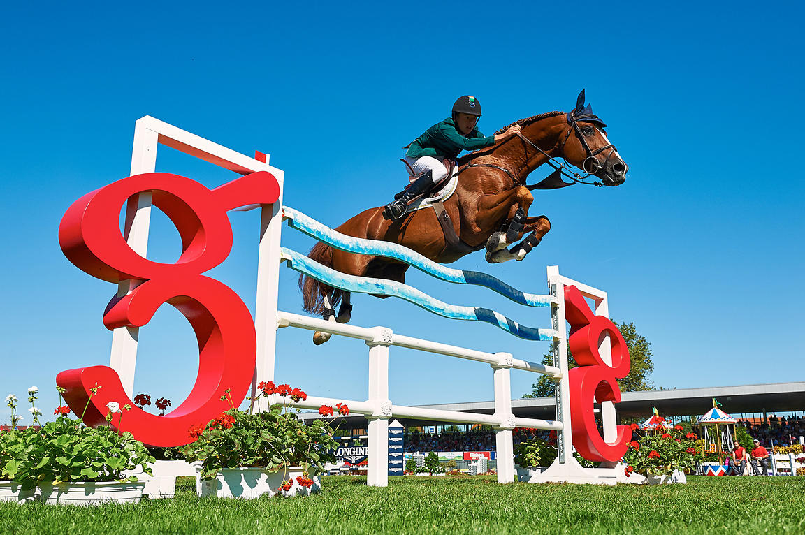 CSIO***** Gijon Nations Cup at Las Mestas, 1,60 nations cup class.