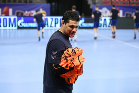 Leon Susnja of team PPD Zagreb training during the Final Tournament - Final Four - SEHA - Gazprom league, Skopje, 12.04.2018,...
