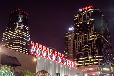Power and Light District Sign #2