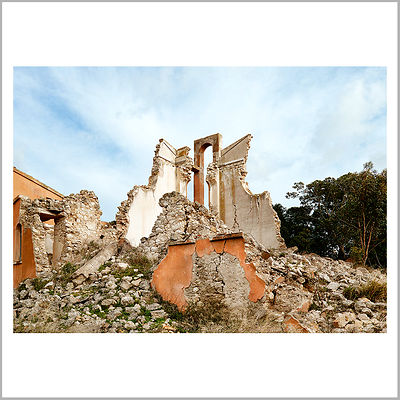 21st November 2015 - Collapsed Church in Borgo Guttadauro, Butera, Sicily (Italy)