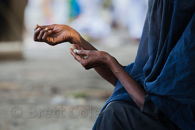 A muslim woman begs during Eid al-Adha, Maidan, Kolkata.I have the only photos taken by a foreigner of this most important da...