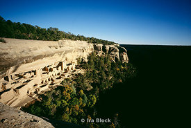 Cliff Palace at Mesa Verde National Park, CO