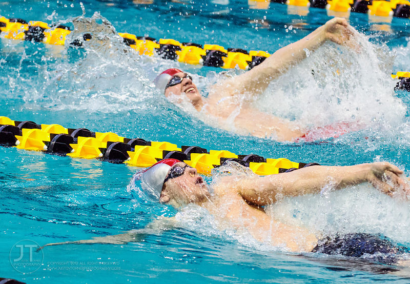 B1G Swimming and Diving Championships Feb 28, 2015
