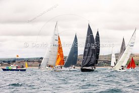 IRC 3 start, Weymouth Regatta 2018, 201809081095.
