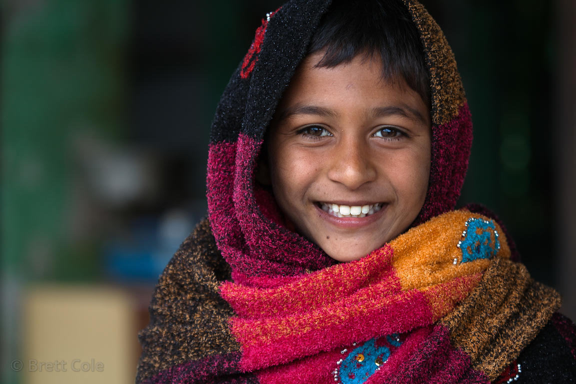 Boy from the rural village of Kharekhari, Rajasthan, India