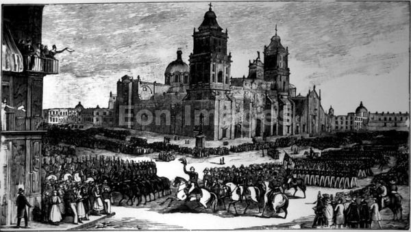 Winfield Scott enters Mexico City