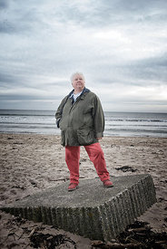 Author Val McDermid, Alnmouth, England