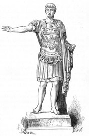 Germanicus wearing cuirass