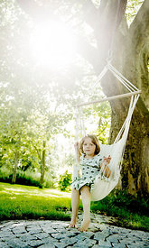 Girl on swing #2