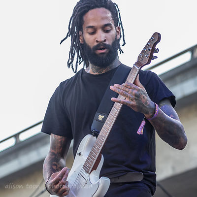 Stevis Harrison, guitar, The Fever 333