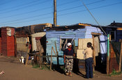 shack, Langa, Cape Flats, Cape Town, South Africa
