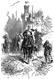 Knights depart on Second Crusade