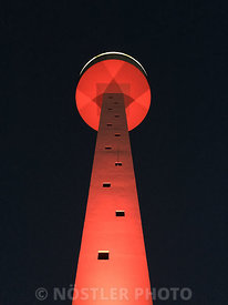 Coastguard tower - Red