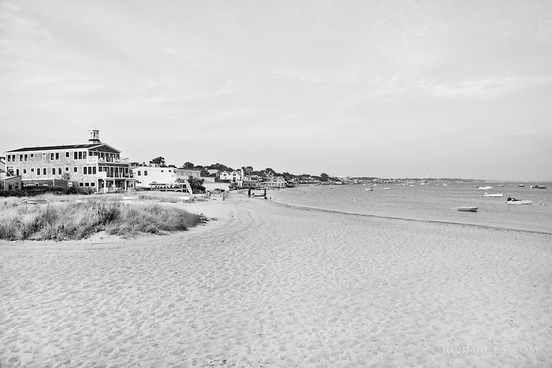 PROVINCETOWN CAPE COD MASSACHUSETTS BLACK AND WHITE