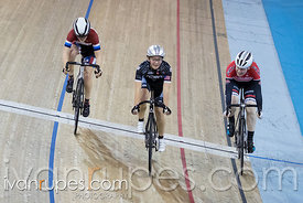 Cat 2/U17 Women Scratch Race. 2016/2017 Track O-Cup #3/Eastern Track Challenge, Mattamy National Cycling Centre, Milton, On, February 12, 2017Centre, Milton, On, February 12, 2017
