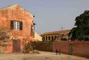 Colonial house, Gorée Island, Senegal