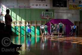 Match on the Basketball Camp runned by KZS (Košarkarska zveza Slovenije - Slovene Basketball Federation)