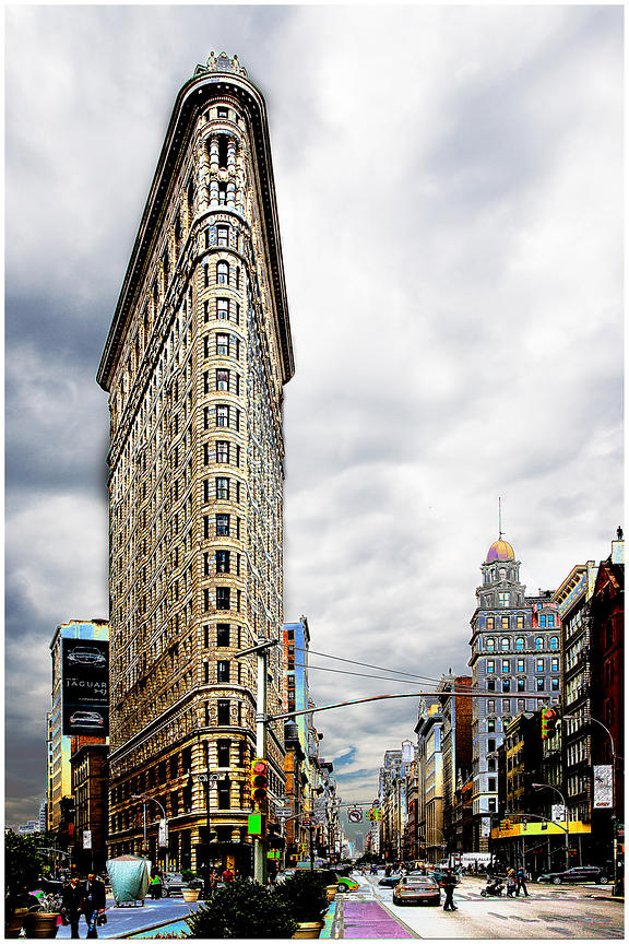 Flatiron building, New York 2010