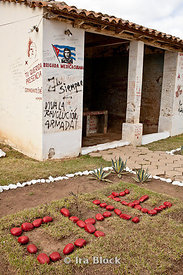 "The day after his execution on October 10, 1967, Ernesto ""Che"" Guevara's corpse was displayed to the world press in the laund..."