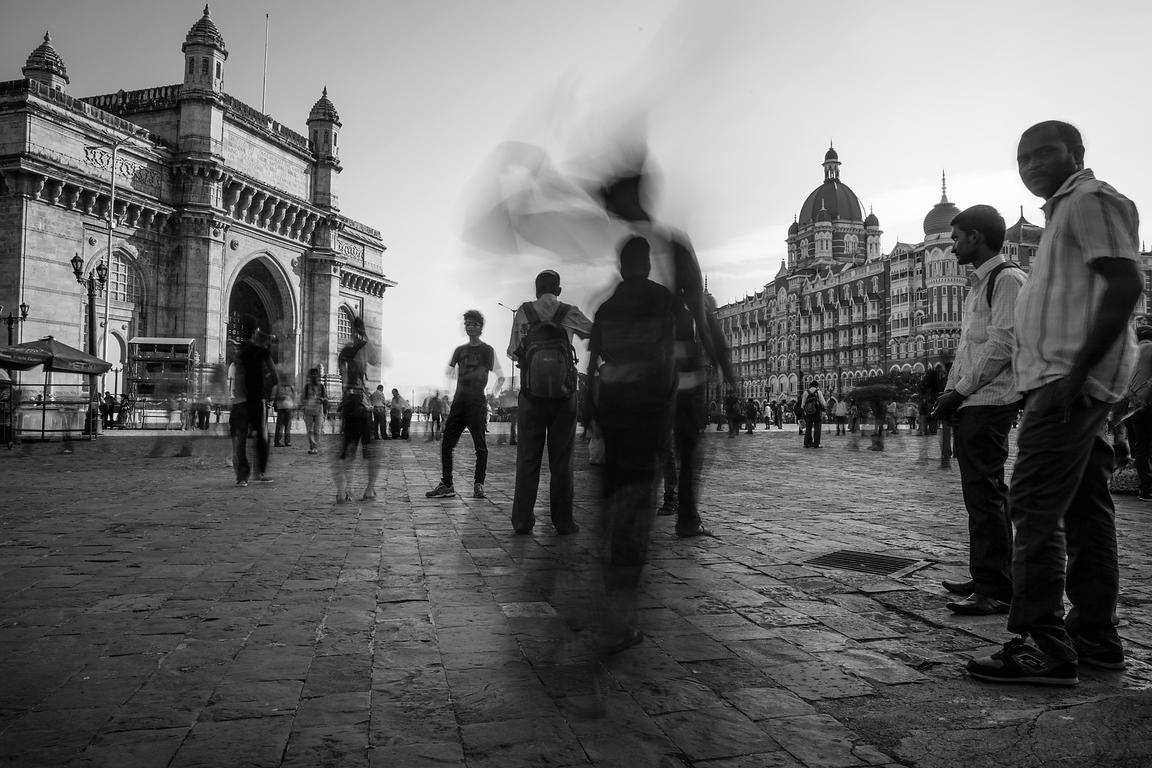 'Gateway'  Mumbai 2015   Photographer  Neil Emmerson  £975 inc uk vat:   Edition of 25.