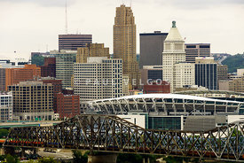 Picture of Cincinnati Skyline Office Buildings