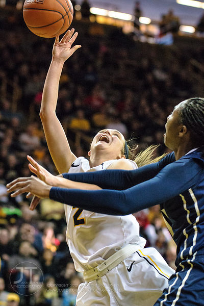 PC- Women's Basketball, Iowa vs Penn State, December 28, 2014