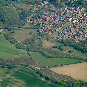 Epsom and Ewell aerial photos