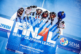 Best players during the Final Tournament - Final Four - SEHA - Gazprom league, Gold Medal Match Vardar - Telekom Veszprém, Be...