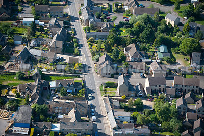 Aerial view of Brize Norton, Oxfordshire