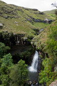 waterfall, Highmoor nature reserve, uKhahlamba Drakensberg Park, South Africa
