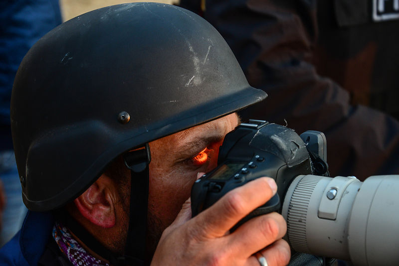 Press covering the Kobani War