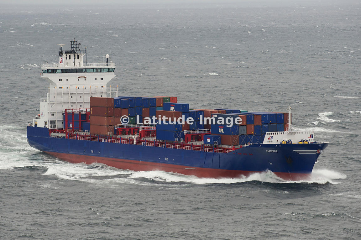 Container Ship, Northern Sea