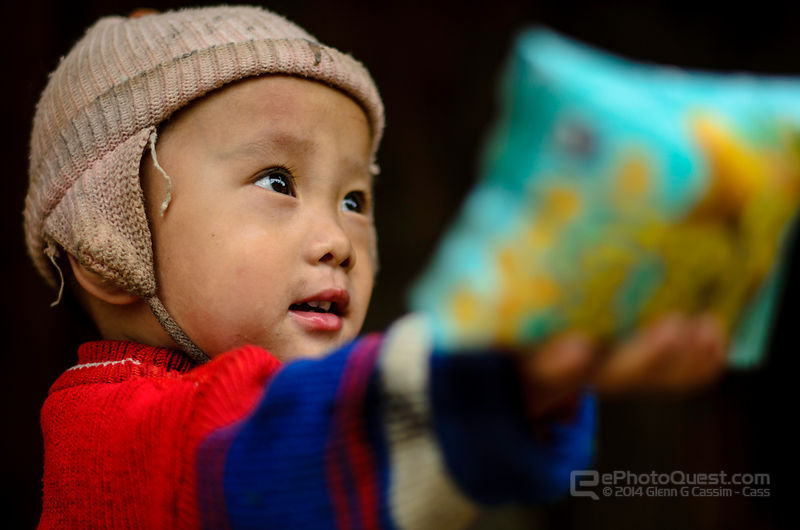 Young Hmong Child